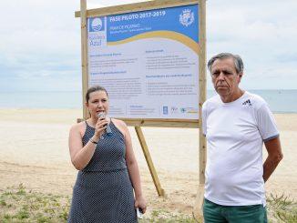 Foi lançado oficialmente a fase piloto do programa internacional de certificação, Bandeira Azul. A partir de agora, Balneário Piçarras tem dois anos para se adequar as 26 recomendações apontadas por relatório do Instituto Ambientes em Rede, responsável pelo programa no Brasil. A cidade pretende obter a certificação antes mesmo do prazo final
