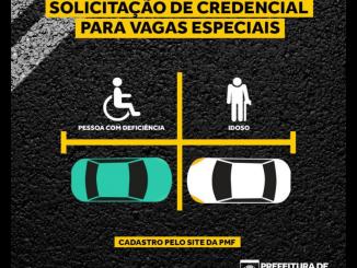 Credencial especial para estacionamento agora pode ser feita na internet-Div. Gazeta Comunitária