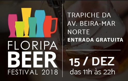 3º Floripa Beer Festival movimenta Beira-mar Norte neste sábado(15)