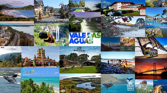 Regiões Sul e Nordeste do Brasil lideram como principais destinos de férias